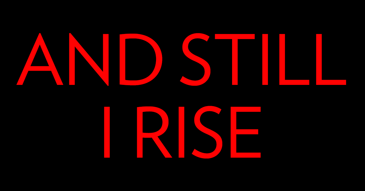 still i rise Still i rise 1k likes an alternative rock band stemming from central connecticut aiming to write innovative, hook driven music.